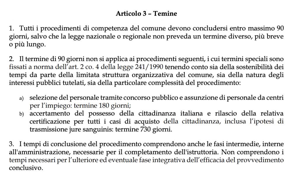 prazo do processo de cidadania italiana