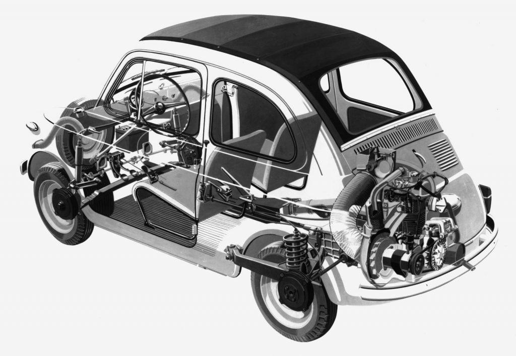 O incrível Fiat 500: uma lenda italiana 2 O incrível Fiat 500: uma lenda italiana
