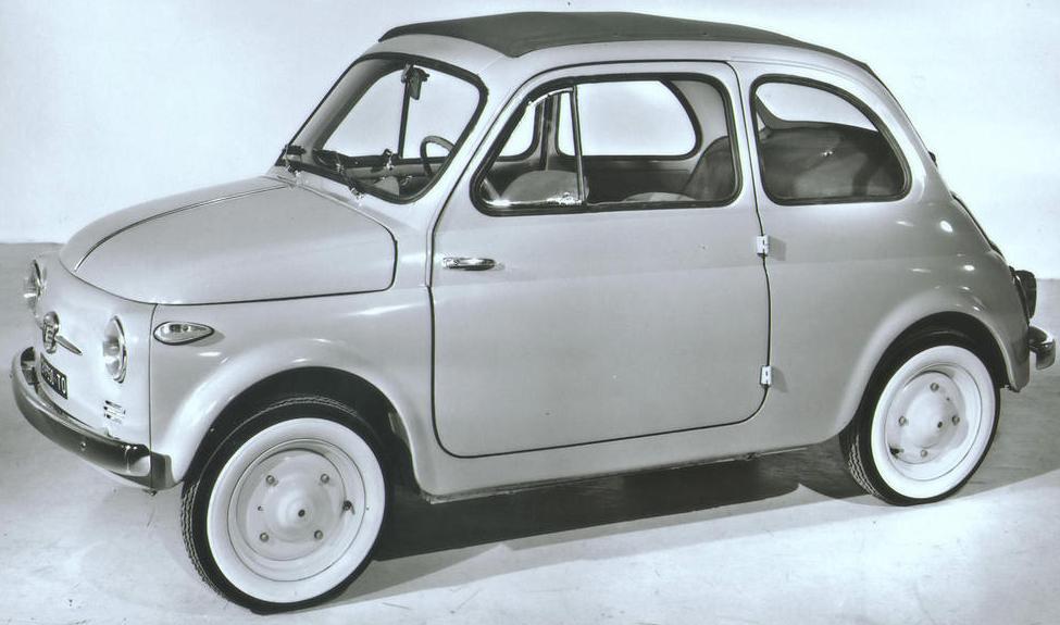 O incrível Fiat 500: uma lenda italiana 1 O incrível Fiat 500: uma lenda italiana